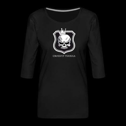CrossFit Tuusula BW - Naisten premium 3/4-hihainen paita