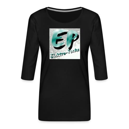Elektro-Pocke T-Shirt Premium - Frauen Premium 3/4-Arm Shirt