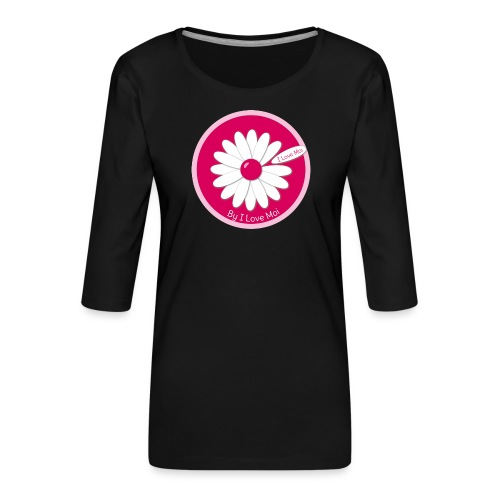 Call me Mademoiselle ! Le TeeShirt by I Love Moi - T-shirt Premium manches 3/4 Femme