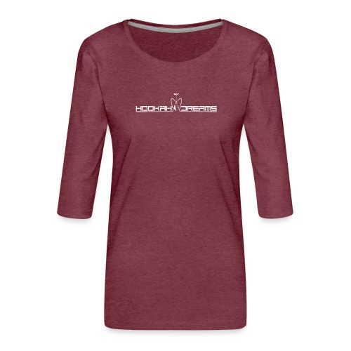 Hookahdreams - Frauen Premium 3/4-Arm Shirt