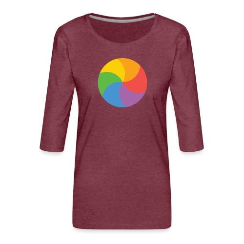 BeachBal - Vrouwen premium shirt 3/4-mouw