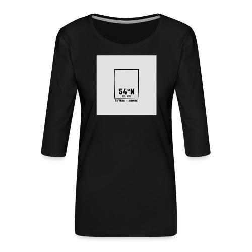 54°Nord square Sweatshirt - Dame Premium shirt med 3/4-ærmer