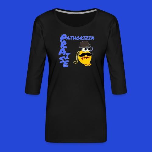 PraisePathorizia - Maglietta da donna premium con manica a 3/4