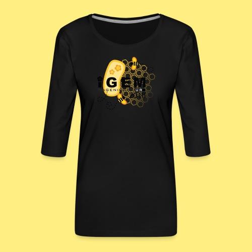 Logo - shirt men - Vrouwen premium shirt 3/4-mouw