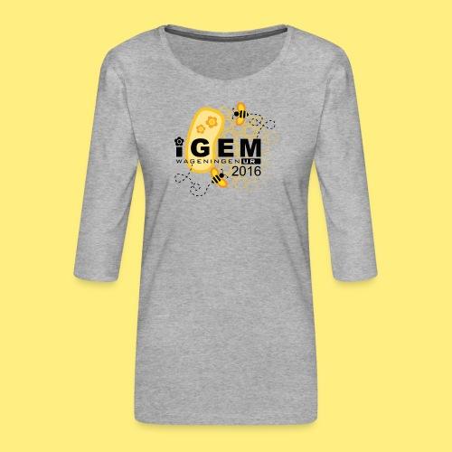 Logo - mug - Vrouwen premium shirt 3/4-mouw