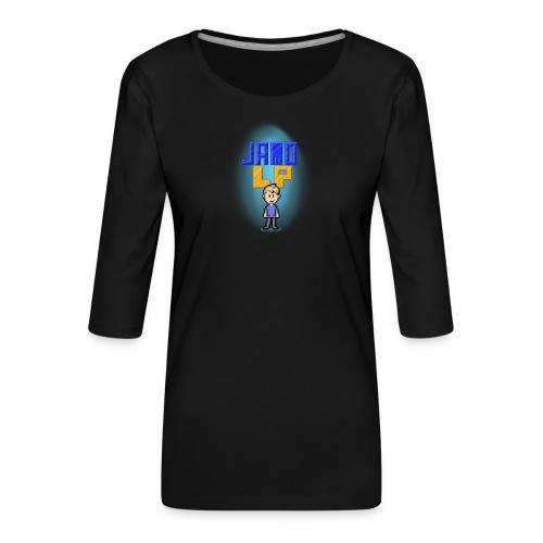Pixel Jamo - Dame Premium shirt med 3/4-ærmer