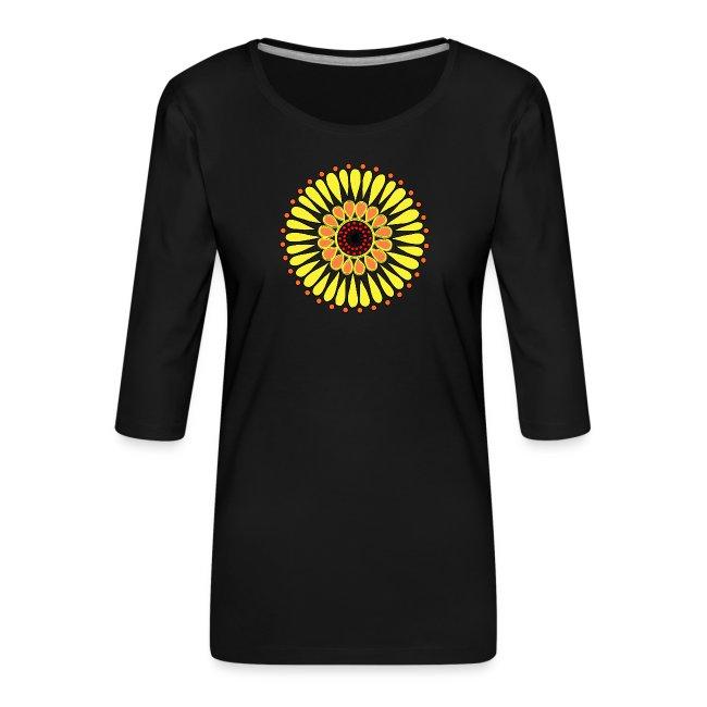 Yellow Sunflower Mandala