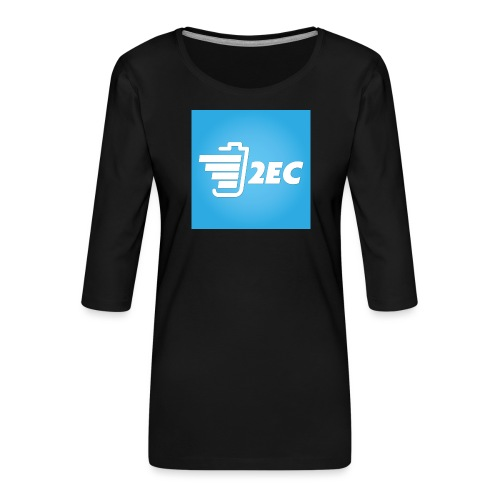 2EC Kollektion 2016 - Frauen Premium 3/4-Arm Shirt