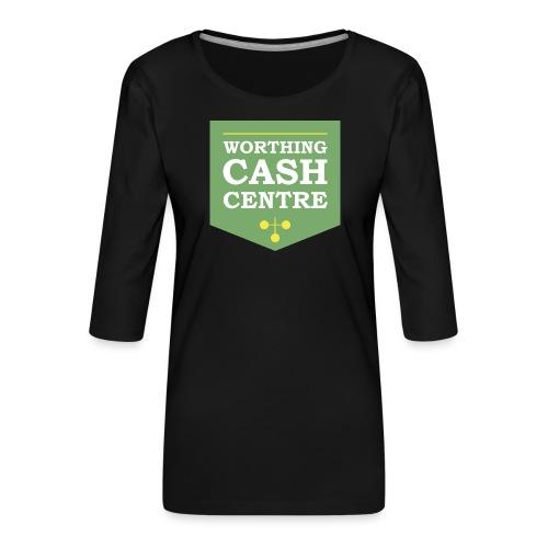 WCC - Test Image - Women's Premium 3/4-Sleeve T-Shirt