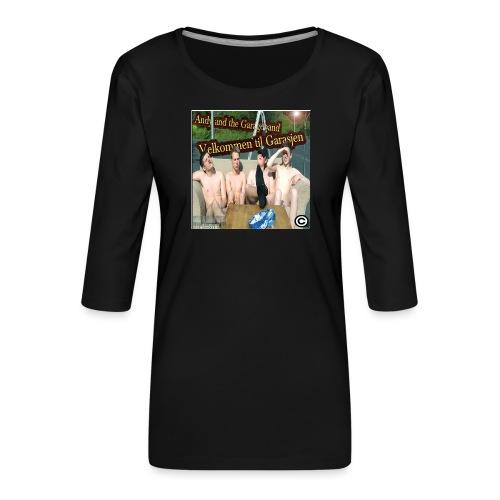 Velkommen Til Garasjen - Premium T-skjorte med 3/4 erme for kvinner
