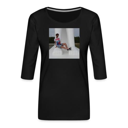 12049283 10206640709869223 2934414594838933878 n - Dame Premium shirt med 3/4-ærmer