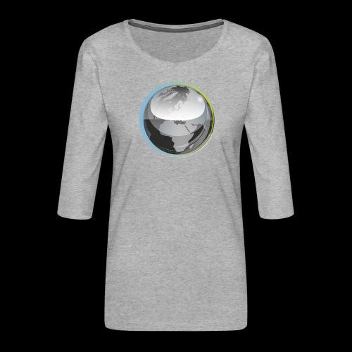 beeldmerk puretrance transparant png - Women's Premium 3/4-Sleeve T-Shirt