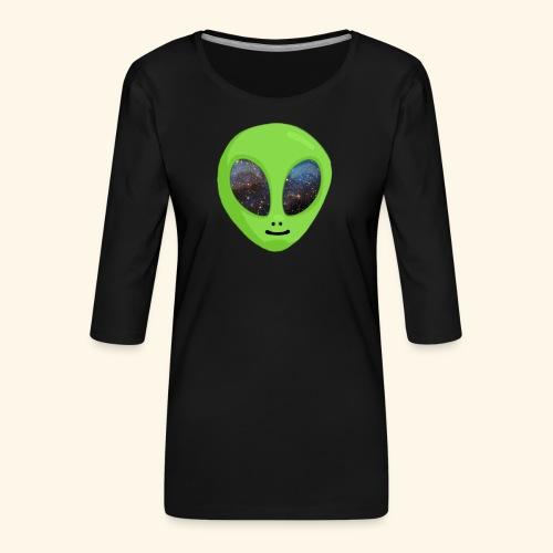 ggggggg - Vrouwen premium shirt 3/4-mouw