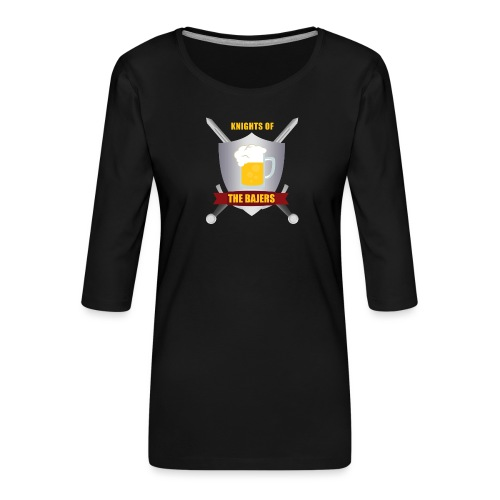 Knights of The Bajers - Dame Premium shirt med 3/4-ærmer