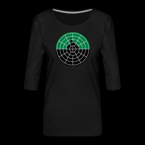 U-Boot Periskop - Frauen Premium 3/4-Arm Shirt