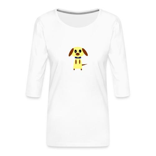 Dog Cute - Frauen Premium 3/4-Arm Shirt