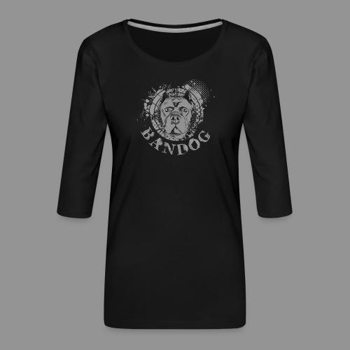 Bandog - Women's Premium 3/4-Sleeve T-Shirt