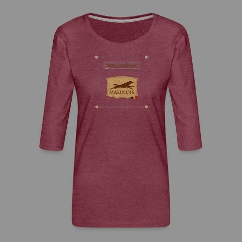 Belgian shepherd Malinois - Women's Premium 3/4-Sleeve T-Shirt