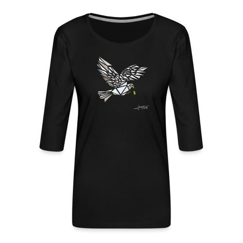 colombus-spread - T-shirt Premium manches 3/4 Femme