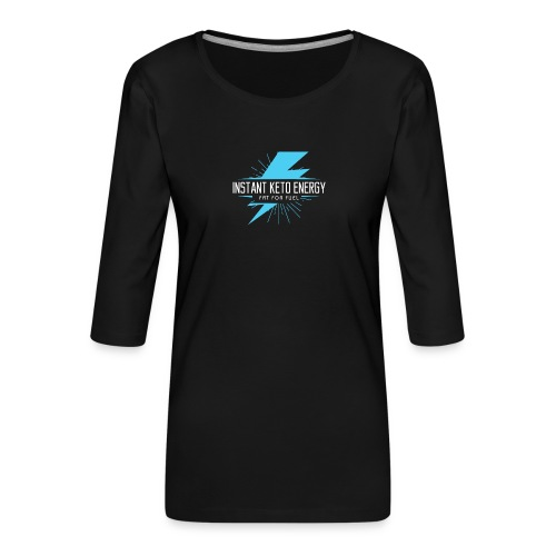 KETONES - Instant Energy Tasse - Frauen Premium 3/4-Arm Shirt