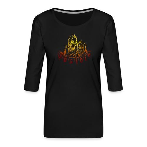 Obsidio Feuer - Frauen Premium 3/4-Arm Shirt