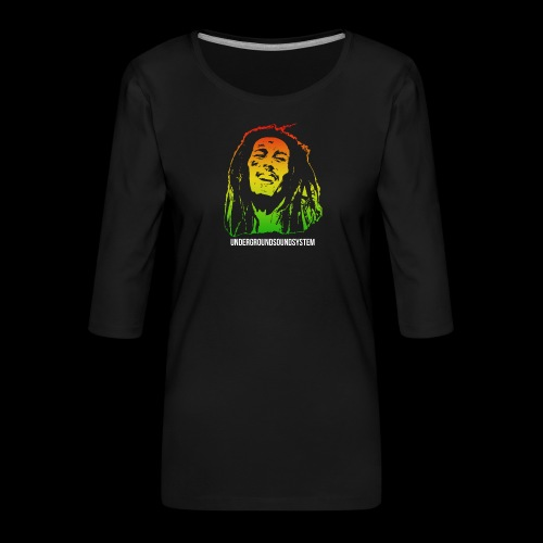 King of Reggae - Frauen Premium 3/4-Arm Shirt