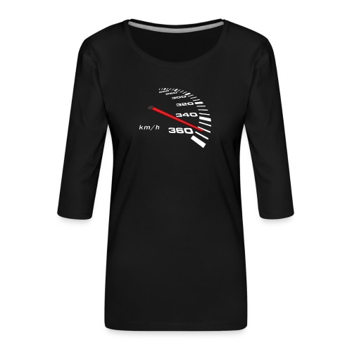 Turbo Tacho Extrem Tuning - Frauen Premium 3/4-Arm Shirt