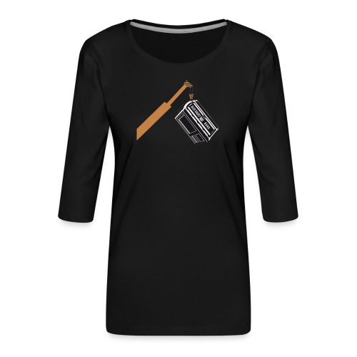 AKUB - Frauen Premium 3/4-Arm Shirt