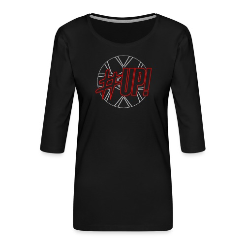 brands hatch - Frauen Premium 3/4-Arm Shirt