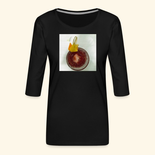 Americano - Maglietta da donna premium con manica a 3/4