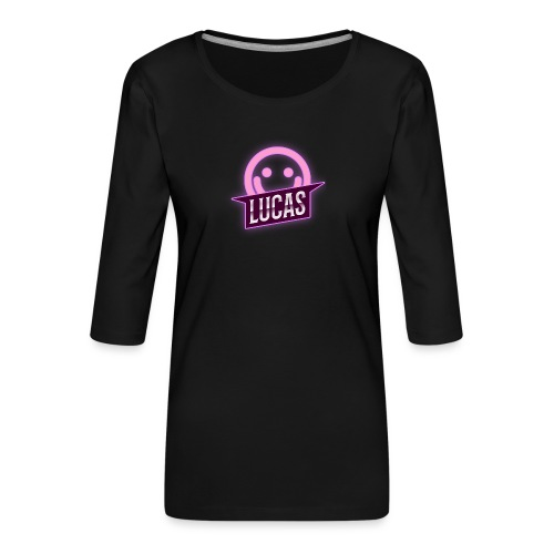 Lucas Artzzz (Smile) - Vrouwen premium shirt 3/4-mouw