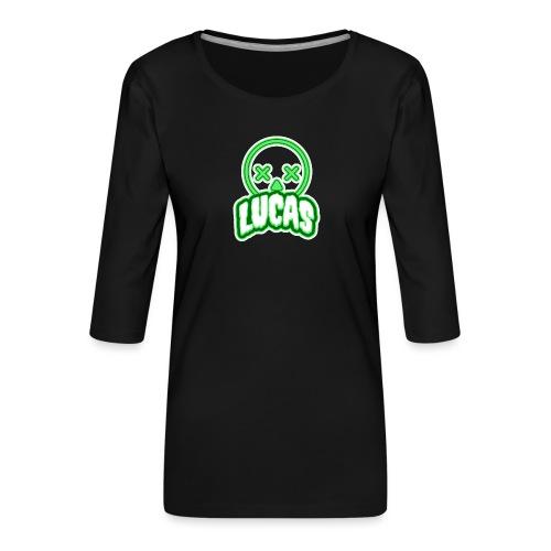 Lucas (Horror) - Vrouwen premium shirt 3/4-mouw