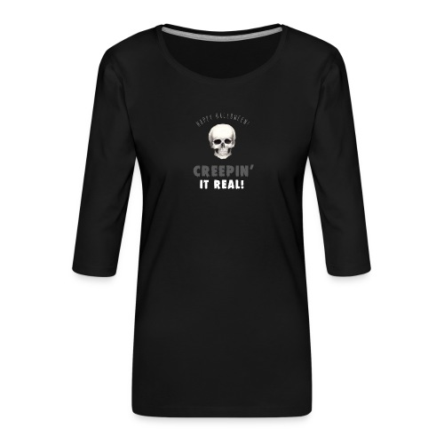 Happy Halloween - Frauen Premium 3/4-Arm Shirt
