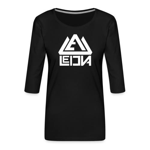 LEDUNA WHITE LOGO - Premium-T-shirt med 3/4-ärm dam