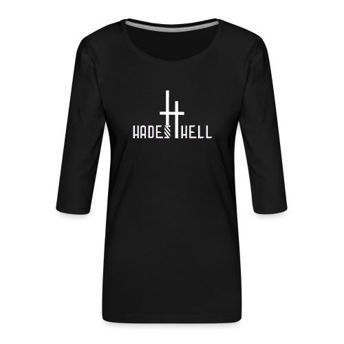 Hadeshell-white - Frauen Premium 3/4-Arm Shirt