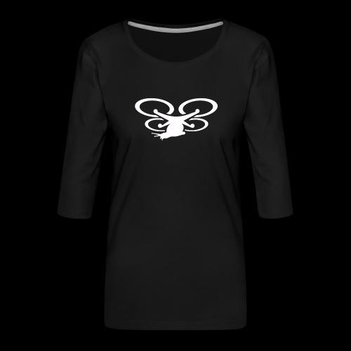 Einseitig bedruckt - Frauen Premium 3/4-Arm Shirt