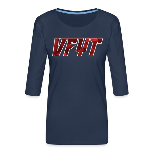 vfyt shirt - Vrouwen premium shirt 3/4-mouw