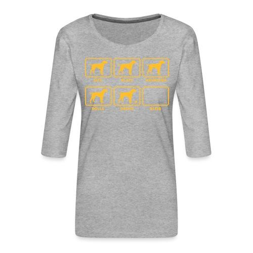 Für alle Hundebesitzer mit Humor - Frauen Premium 3/4-Arm Shirt