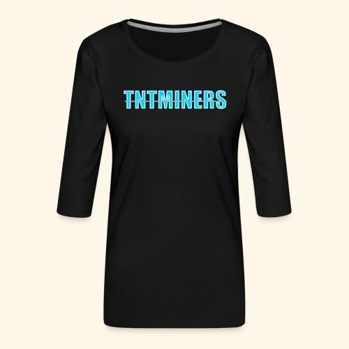 tntminers annan faerg 4 - Premium-T-shirt med 3/4-ärm dam