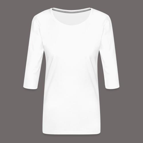 Tregion Logo wide - Women's Premium 3/4-Sleeve T-Shirt