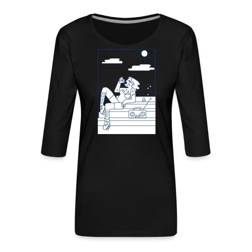 Hot summer - T-shirt Premium manches 3/4 Femme