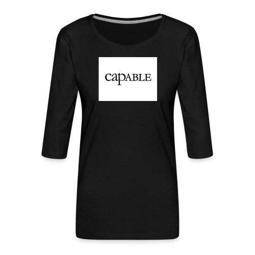 untitled-jpg - Koszulka damska Premium z rękawem 3/4