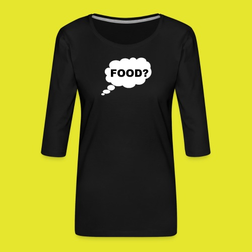 What I am thinking about - Premium-T-shirt med 3/4-ärm dam