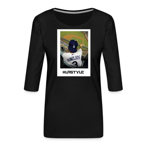 L.A. STYLE 1 - Women's Premium 3/4-Sleeve T-Shirt