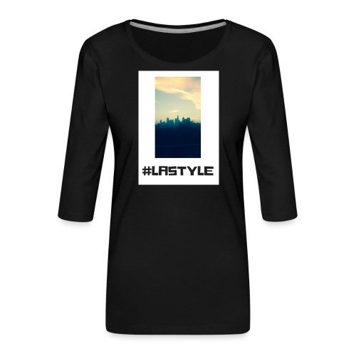 LA STYLE 3 - Women's Premium 3/4-Sleeve T-Shirt