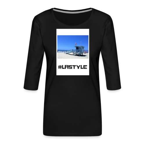 LA STYLE 2 - Women's Premium 3/4-Sleeve T-Shirt