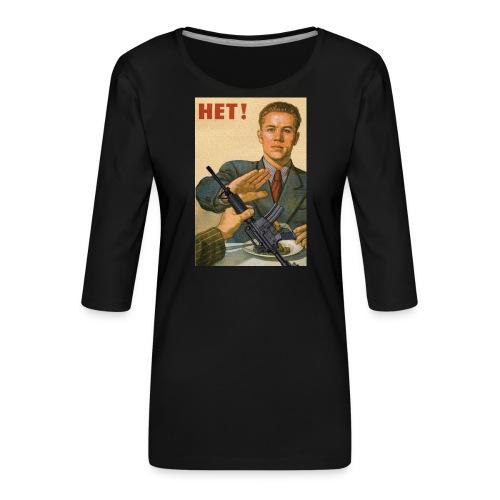 Njet M4 - Frauen Premium 3/4-Arm Shirt