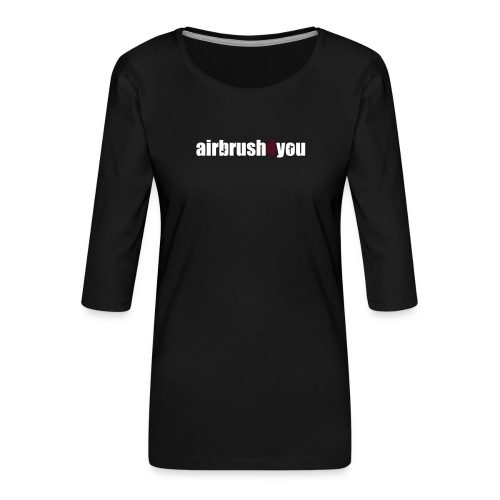 Airbrush - Frauen Premium 3/4-Arm Shirt