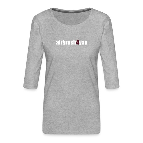 Airbrush - Frauen Premium 3/4-Arm Shirt