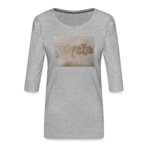 Simon Psycho Artist - Vrouwen premium shirt 3/4-mouw